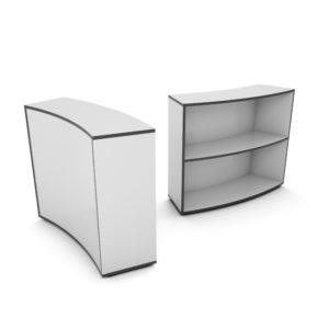 """CONCLAVE<span class=""""trade""""></span> Booth Bookcase (Outer)"""