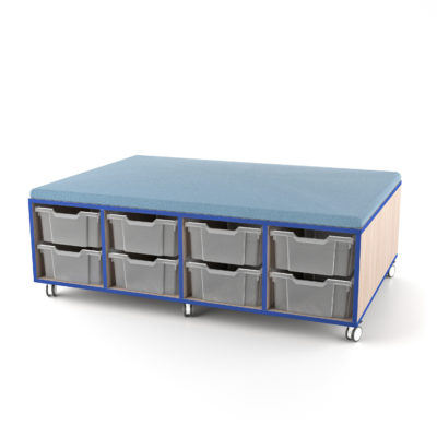 STORE AND DRAW[trade] Upholstered Caddy (16 Tub)